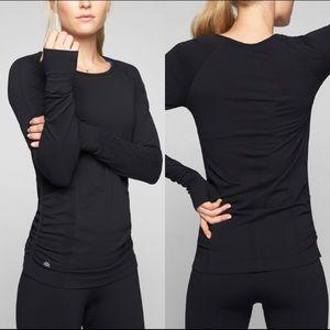 Athleta Black Long Sleeve Shirt